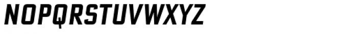 Bank Sans Caps Comp Obl Font LOWERCASE