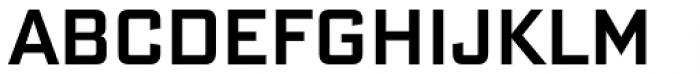 Bank Sans Cond Med Font UPPERCASE