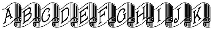 Banner Year NF Font UPPERCASE