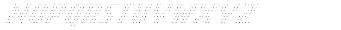 Banner _11_Ultrathin_Pixel Font UPPERCASE
