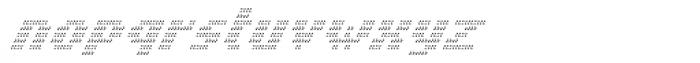 Banner _31_Ultralight_Pixel Font LOWERCASE