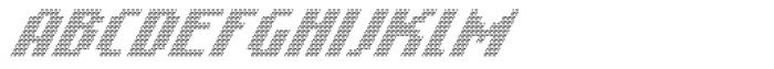 Banner _52_Light_Pixel Font UPPERCASE