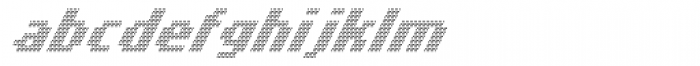 Banner _52_Light_Pixel Font LOWERCASE