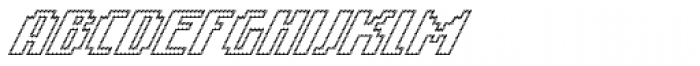 Banner _62_Regular_Outline Font UPPERCASE