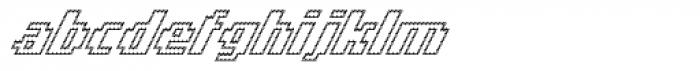 Banner _62_Regular_Outline Font LOWERCASE