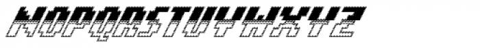 Banner _64_Regular_Out_Bot Font UPPERCASE