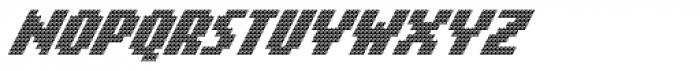 Banner _65_Regular_Matrix Font UPPERCASE