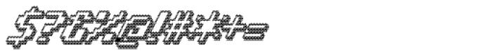 Banner _82_Bold_Outline Font OTHER CHARS