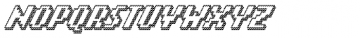 Banner _82_Bold_Outline Font UPPERCASE