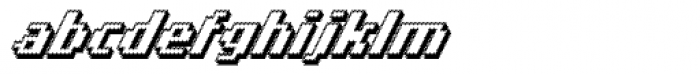 Banner _83_Bold_Out_Pro Font LOWERCASE