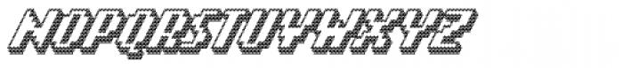 Banner _92_Black_Outline Font UPPERCASE