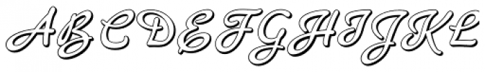 Banner Font UPPERCASE