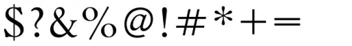 Bannikova Font OTHER CHARS