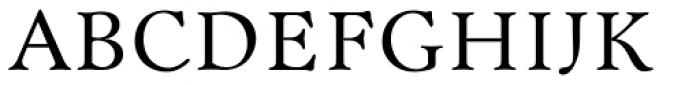Bannikova Font UPPERCASE
