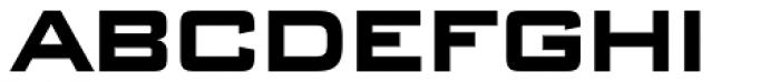 Banque Gothique RR ExtraBold Font UPPERCASE