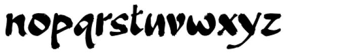 Banquet SCF Font LOWERCASE