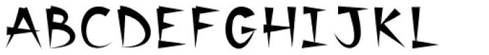 Banyan Font UPPERCASE