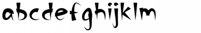 Banyan Font LOWERCASE