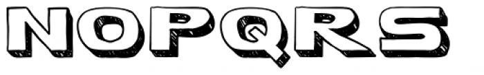 Bapalopa Font UPPERCASE