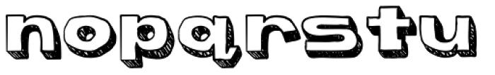 Bapalopa Font LOWERCASE