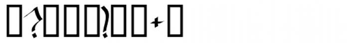 Baphomet Font OTHER CHARS