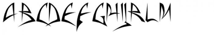 Baphomet Font UPPERCASE