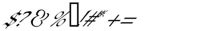 Baraquiel Font OTHER CHARS