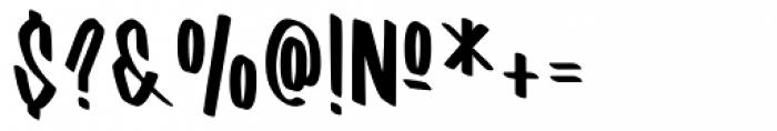 Barata Display Regular Font OTHER CHARS
