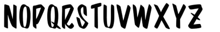 Barata Display Regular Font UPPERCASE