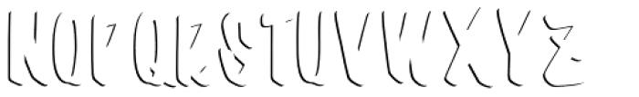 Barata Display Sans Font UPPERCASE