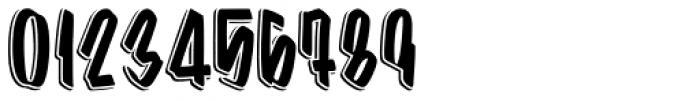 Barata Display Shadow Font OTHER CHARS