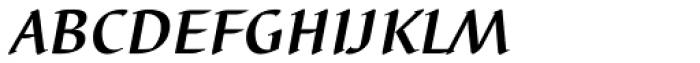 Barbedor EF Medium Italic SC Font LOWERCASE