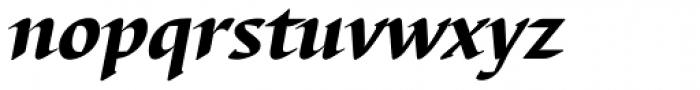 Barbedor Heavy Italic Font LOWERCASE