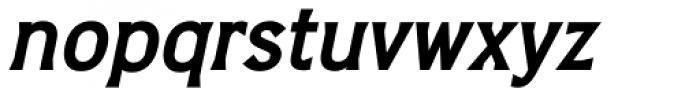 Barbica Bold Italic Font LOWERCASE