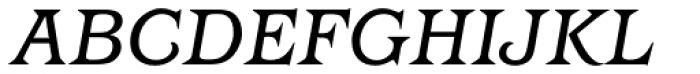 Barcelona Book Italic Font UPPERCASE