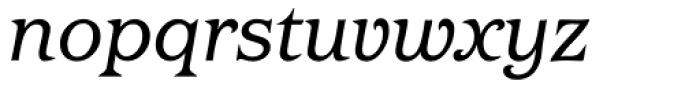 Barcelona Book Italic Font LOWERCASE