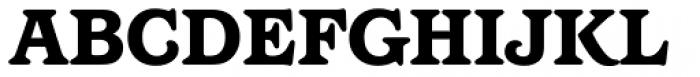 Barcelona Medium Heavy Font UPPERCASE