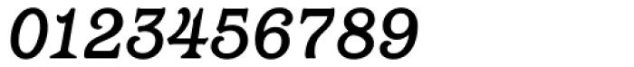 Barcelona Medium Italic Font OTHER CHARS