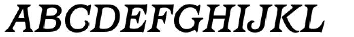 Barcelona Medium Italic Font UPPERCASE