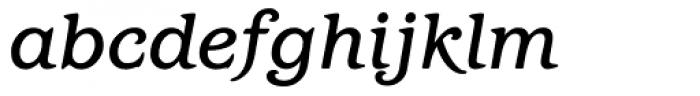 Barcelona Medium Italic Font LOWERCASE