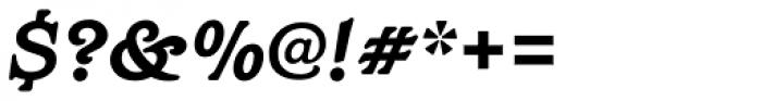 Barcelona Std Bold Italic Font OTHER CHARS