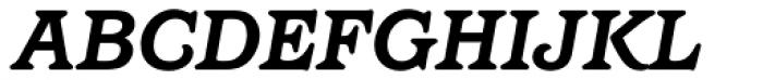 Barcelona Std Bold Italic Font UPPERCASE