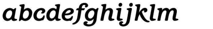 Barcelona Std Bold Italic Font LOWERCASE