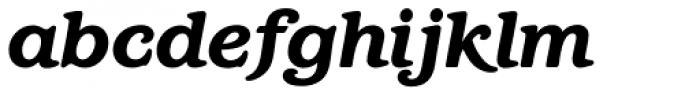 Barcelona Std Heavy Italic Font LOWERCASE