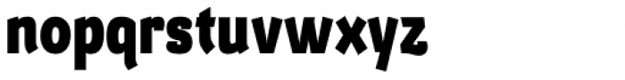 Barcis Con Exbold Font LOWERCASE