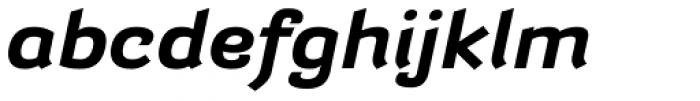 Barcis Ext Bold Italic Font LOWERCASE