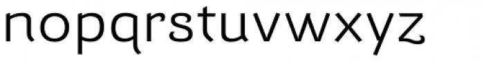 Barcis Ext Regular Font LOWERCASE