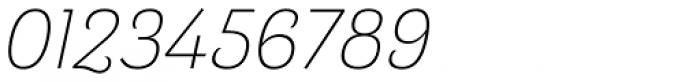 Barcis Normal Light Italic Font OTHER CHARS