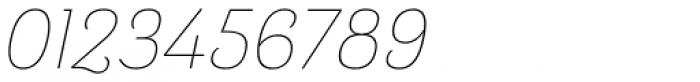 Barcis Normal Thin Italic Font OTHER CHARS