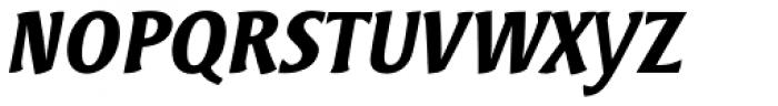 Bardi Bold Italic Font UPPERCASE